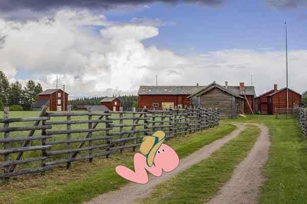 Wurmfarm: Wurm vor Farm